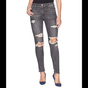 Womens Levis 721 High Rise Skinny Stretch Jeans